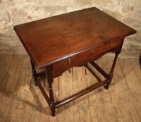 18th Century Oak Side Table (2 of 7)