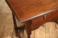 18th Century Oak Side Table (4 of 7)