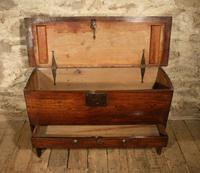 18th Century Elm Coffer (3 of 8)