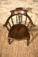 Smokers Bow Armchair c.1880 (2 of 5)
