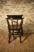 Smokers Bow Armchair c.1880 (4 of 5)