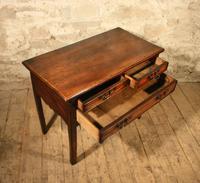 18th Century Elm Lowboy (4 of 6)