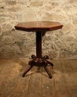 Oak Lamp Table c.1880 (6 of 6)