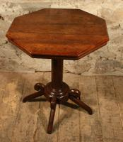 Oak Lamp Table c.1880 (5 of 6)