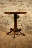Oak Lamp Table c.1880 (3 of 6)