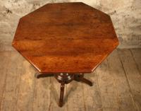 Oak Lamp Table c.1880 (2 of 6)