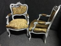 Pair of French Fauteuil Armchairs c.1880 (6 of 6)