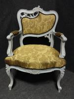 Pair of French Fauteuil Armchairs c.1880 (4 of 6)