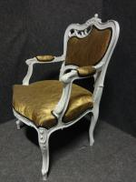 Pair of French Fauteuil Armchairs c.1880 (3 of 6)