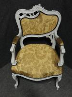 Pair of French Fauteuil Armchairs c.1880 (2 of 6)