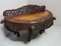 Outstanding Burmese Carved Console Table c.1860
