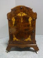 Superb Victorian Burr Walnut Inlaid Canterbury (10 of 12)