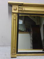 English Gilt Overmantle Mirror c.1830 (3 of 4)