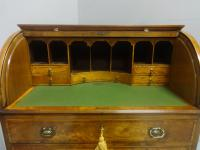 Wonderful Satinwood Bureau of Small Proportions c.1860 (6 of 14)