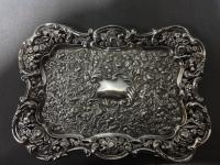 Edwardian Silver Tray by Mathew John Jessop