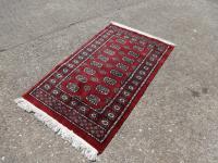 Very Nice Iranian Red Ground Rug
