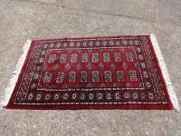 Very Nice Iranian Red Ground Rug (2 of 4)