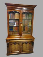 Superb Victorian Mahogany Library  Bookcase (3 of 19)