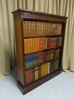 Top Quality Victorian Mahogany Open Bookcase (3 of 8)