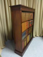 Top Quality Victorian Mahogany Open Bookcase (4 of 8)