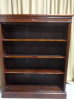 Top Quality Victorian Mahogany Open Bookcase (7 of 8)