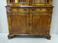 Outstanding Walnut Bookcase C.1910 (3 of 18)
