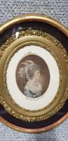 Regency Mezzotint 'A Kensington Beauty' (4 of 5)