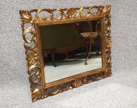 Italian Gilt Mirror c.1920 (2 of 3)