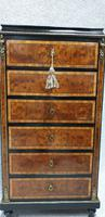 Small French Semanier Chest of Drawers c.1880 (4 of 11)