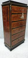 Small French Semanier Chest of Drawers c.1880 (11 of 11)
