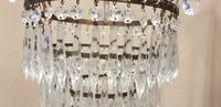 Four Tier Cut Crystal Light Fitting (3 of 4)