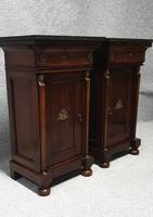 Superb Pair Empire Mahogany Cabinets (2 of 15)