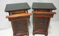 Superb Pair Empire Mahogany Cabinets (6 of 15)
