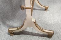 Regency Painted Cheval Mirror (3 of 10)
