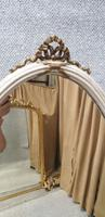 Regency Painted Cheval Mirror (5 of 10)