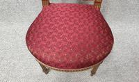 Lovely French Gilt Boudoir Chair (5 of 10)
