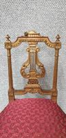 Lovely French Gilt Boudoir Chair (7 of 10)