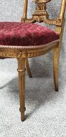 Lovely French Gilt Boudoir Chair (9 of 10)