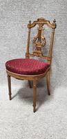 Lovely French Gilt Boudoir Chair (10 of 10)