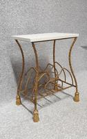 Superb Gilt Metal Magazine RAck (3 of 6)