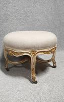 French Painted Round Stool c.1880 (2 of 12)