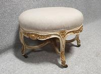 French Painted Round Stool c.1880 (3 of 12)