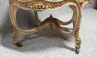 French Painted Round Stool c.1880 (9 of 12)