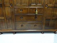 Oak Cottage Compactum Wardrobe of Small Proportions (3 of 8)