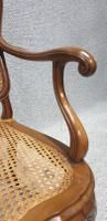 French Walnut Bergere Sofa (6 of 7)