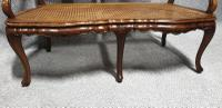 French Walnut Bergere Sofa (5 of 7)