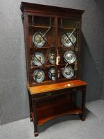 Chippendale Mahogany Display Cabinet c.1890
