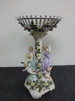 Large German Dresden Centrepiece c.1880