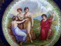 Angelica Kauffman Cabinet Plate c.1910 (2 of 6)