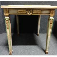 Pair of Marble Topped Lamp / End Tables (2 of 9)